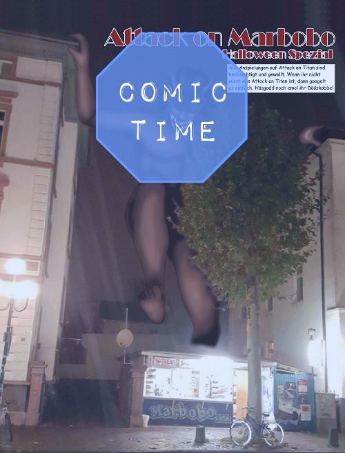 COMIC TIME – HALLOWEEN SPEZIAL