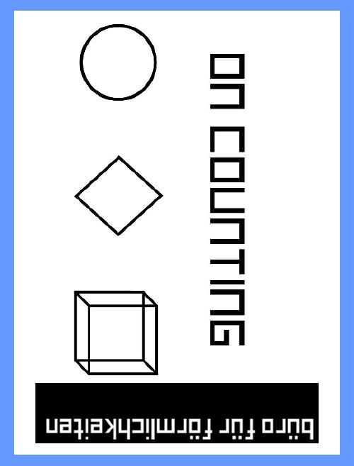 ON COUNTING – 1 UND 1 IST 2