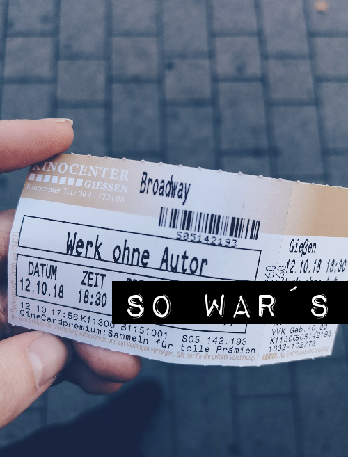 SO WAR DER OSCAR FLAIR