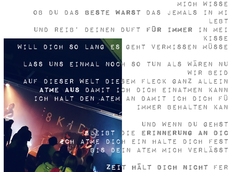 Elefantenklo Magazin, dein Lifestyle Magazin für und aus Gießen: So waren 8kids, Zemenfrabrik und Ninetynine im Jokus