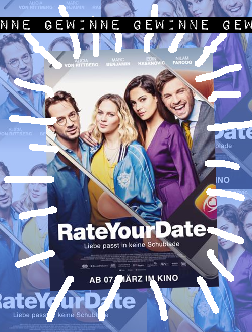 VERLOSUNG – RATE YOUR DATE