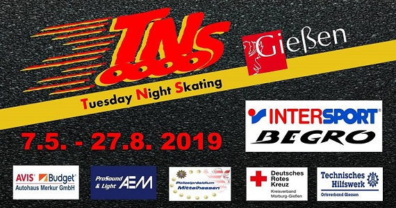 Tuesday Night Skating – TNS Gießen 2019