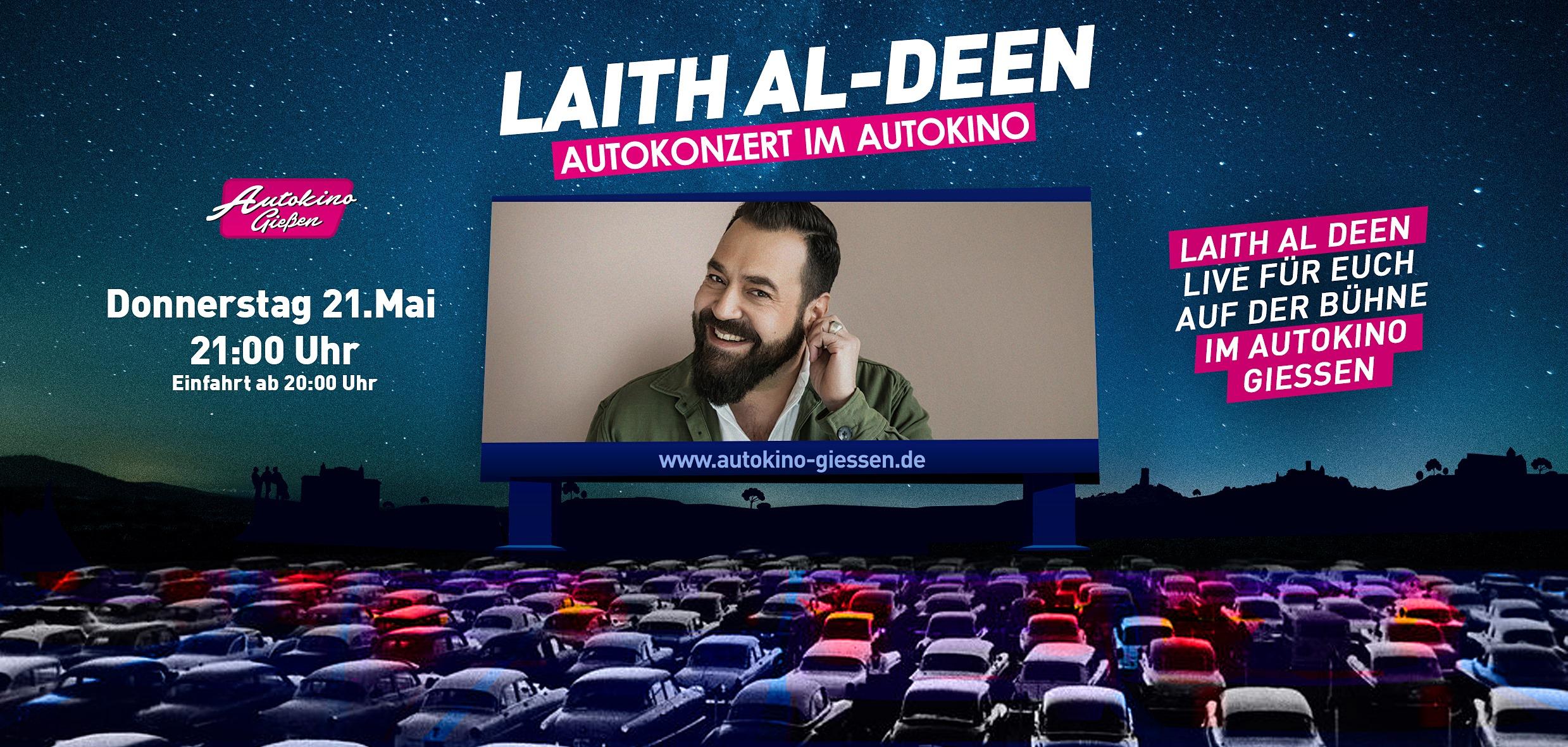 Laith Al-Deen Live im Autokino