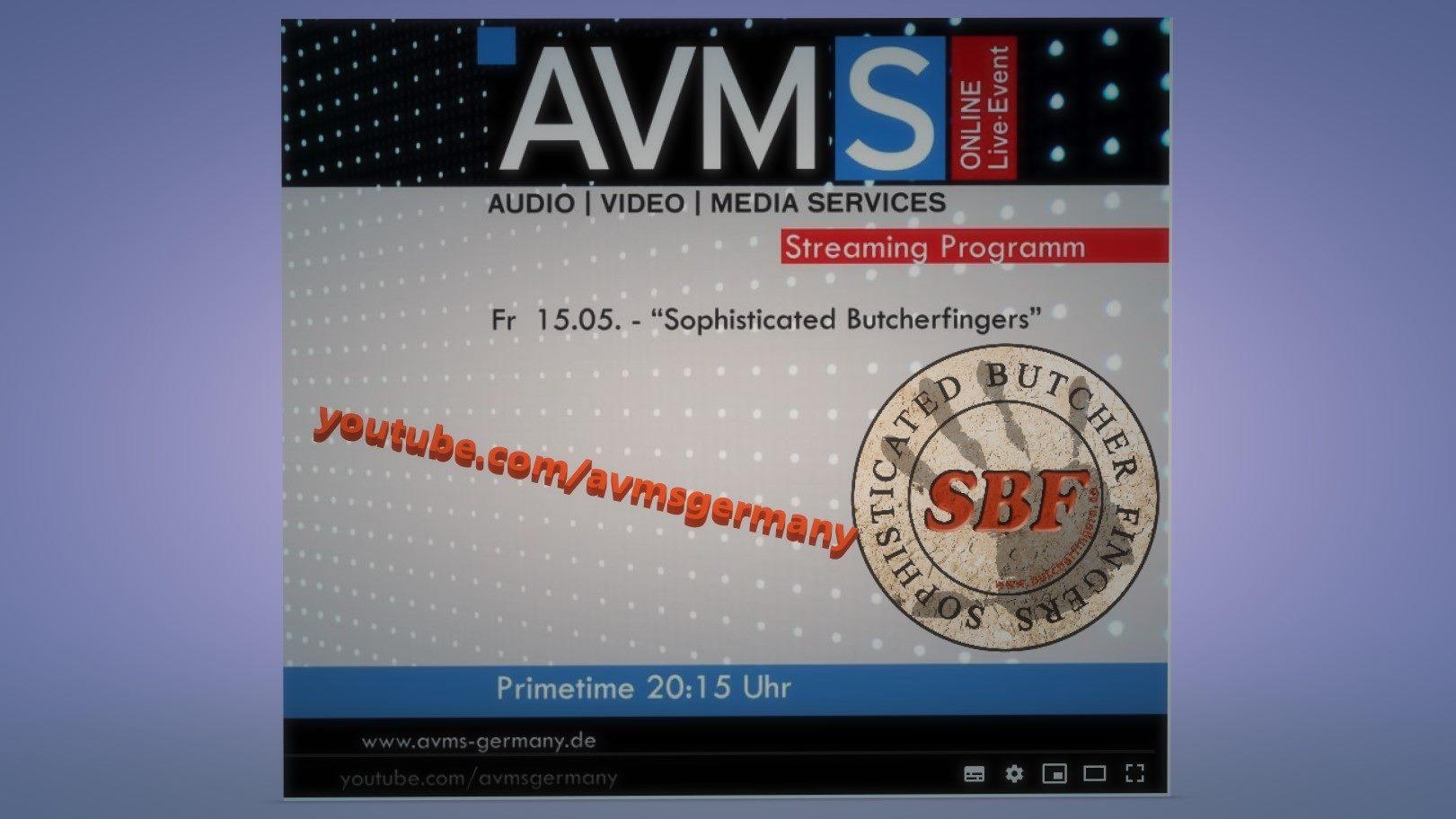 SBF / Butcherfingers im Live-Stream