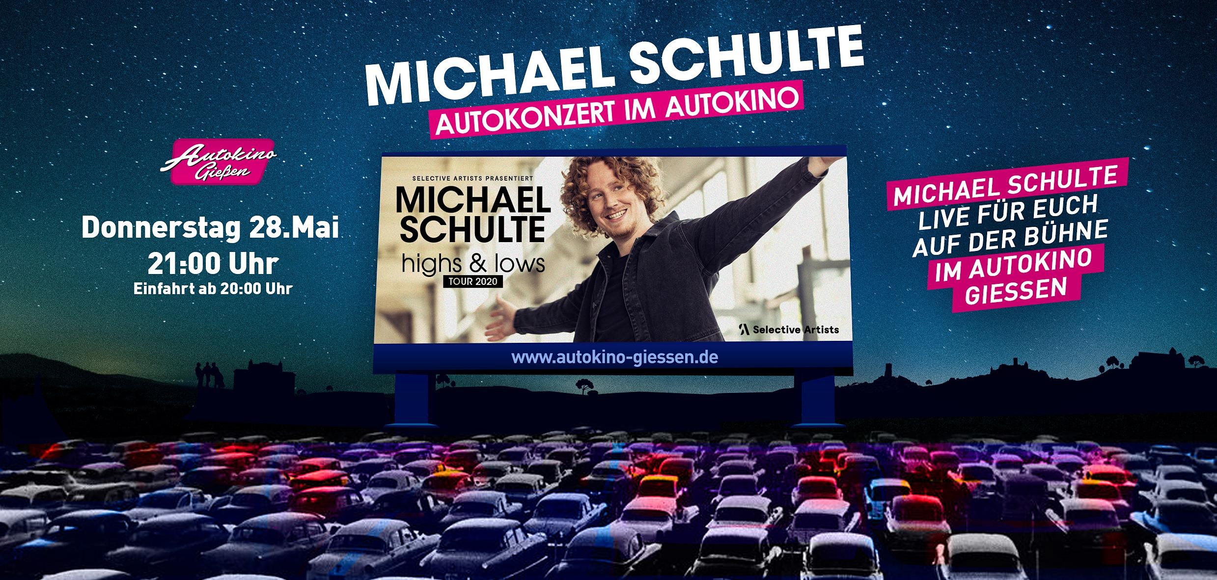 Michael Schulte live im Autokino