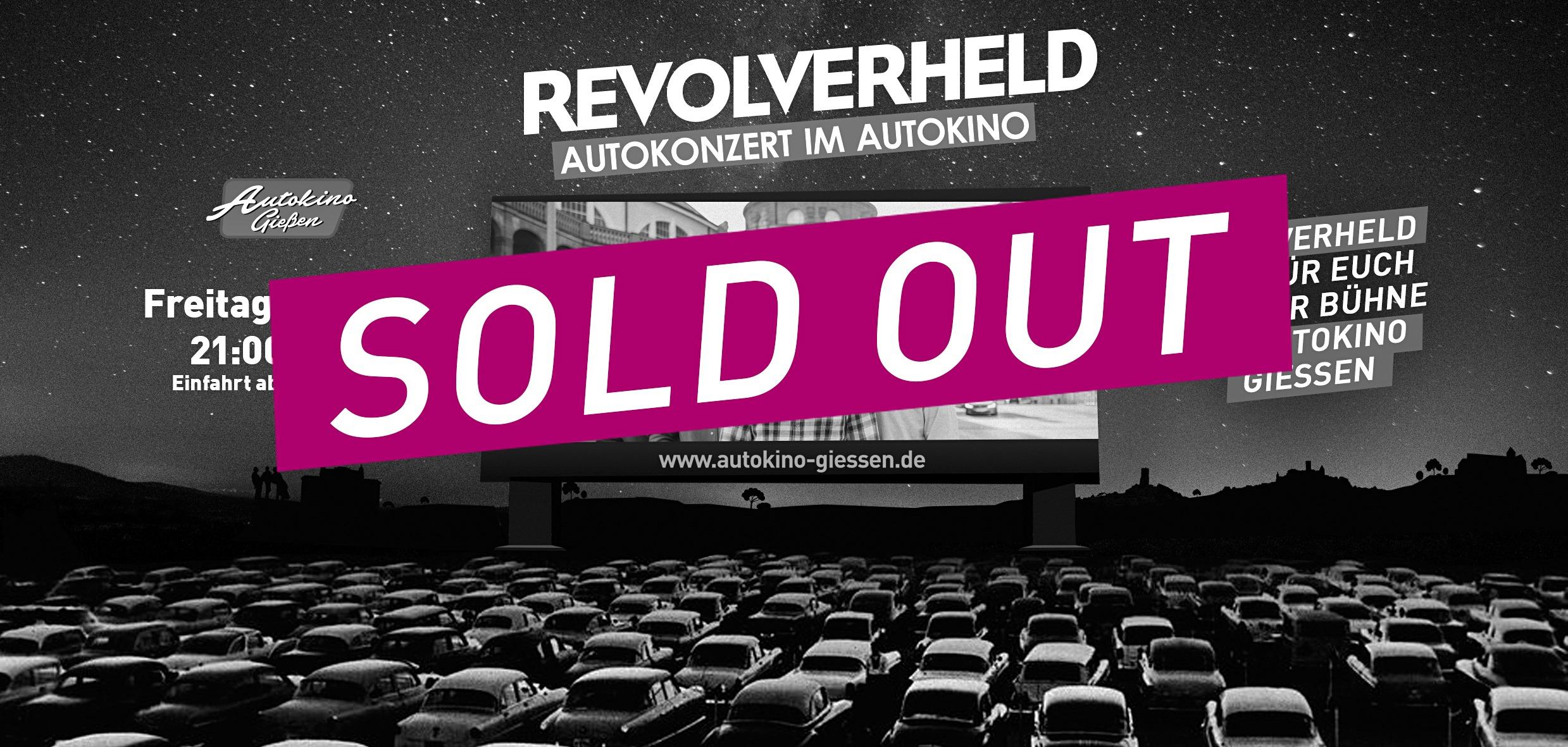 Revolverheld – Autokonzert im Autokino